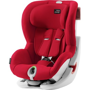 Autosedačka Britax-Römer KING II LS - Fire Red 2019