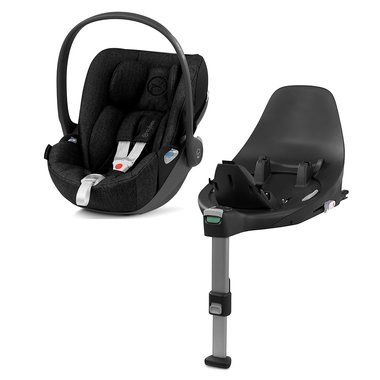 Autosedačka Cybex Cloud Z i-size PLUS - Stardust Black 2019 + Isofix Base Z
