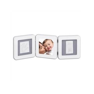 Rámik Baby Art - Double Print Frame - White & Grey