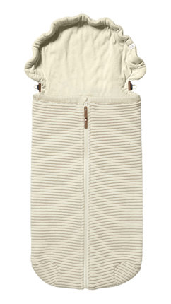 Pletený fusak Joolz Essentials Ribbed - Off White
