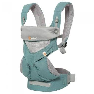 Ergonomický nosič ERGOBABY Four Position 360° Cool Air - Icy Mint