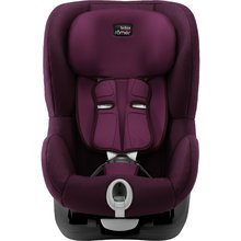 Autosedačka Britax-Römer KING II Black - Burgundy Red 2019