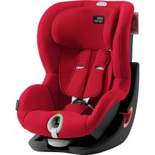 Autosedačka Britax-Römer KING II LS Black Edition - Fire Red 2019