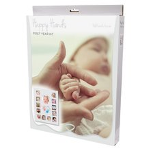 Sada pre spomienky happy hands baby first year kit 2