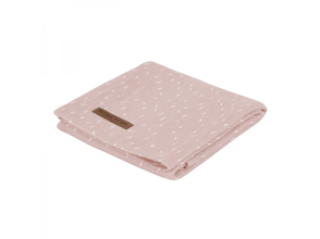 Osuška Little Dutch Swaddle 120x120 - Sprinkles Pink