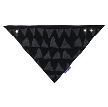 Podbradník DOOKY Dribble Bib - Black Tribal