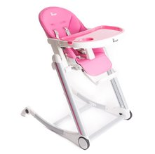 Jedálenská stolička Bo Jungle B-HIGH CHAIR - Pink