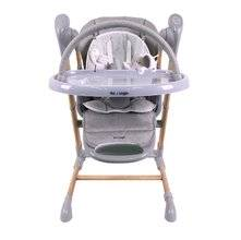 Jedálenská stolička Bo Jungle B-Swinging Chair - Wood Grey