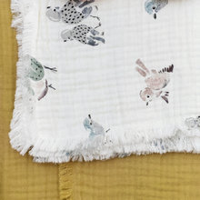 Bavlnená deka Elodie Details - Soft Cotton Blankets - Feathered Friend 2019