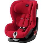Autosedačka Britax-Römer KING II Black - Fire Red 2020