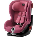 Autosedačka Britax-Römer KING II Black - Wine Rose 2020
