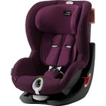 Autosedačka Britax-Römer KING II LS Black Edition - Burgundy Red 2019