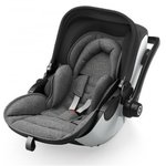 Autosedačka Kiddy Evoluna i-Size + Isofix Base 2 - Grey Melange Icy Grey 2018