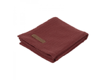 Osuška Little Dutch Swaddle 120x120 - Pure Indian Red
