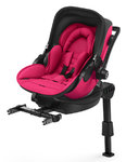 Autosedačka Kiddy Evoluna i-Size + Isofix Base 2 - Berry Pink 2018