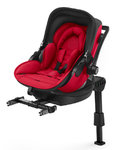 Autosedačka Kiddy Evoluna i-Size + Isofix Base 2 - Chilli Red 2018