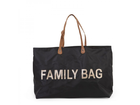 Cestovná taška Childhome Family Bag - Black