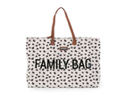 Cestovná taška Childhome Family Bag - Canvas/Leopard