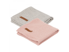 Plienky Little Dutch Swaddle 70x70 - Pink/Grey 2ks