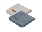 Plienky Little Dutch Swaddle 70x70 - Pure Blue/Grey 2ks