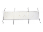 Mantinel Childhome Jersey do postieľky 35x170cm - Gold Dots