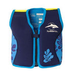 Plávacia vesta Konfidence Jacket - Navy-Blue Palm 15m-3r