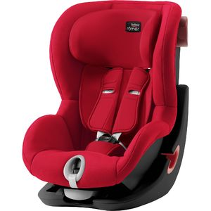 Autosedačka Britax-Römer KING II Black - Fire Red 2019