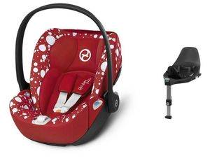 Autosedačka Cybex by Jeremy Scott Cloud Z i-size Fashion - Petticoat Red 2021 + Isofix Base Z - dodanie 04/2021