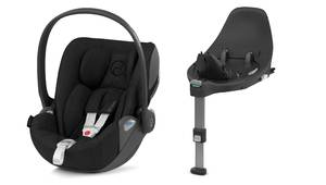 Autosedačka Cybex Cloud Z i-size PLUS - Deep Black 2020 + Isofix Base Z