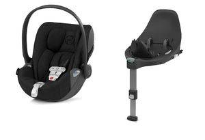 Autosedačka Cybex Cloud Z i-Size PLUS + SenzorSafe - Deep Black 2020 + Isofix Base Z
