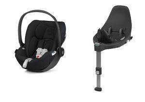 Autosedačka Cybex Cloud Z i-Size + SensorSafe - Deep Black 2020 + Base Z
