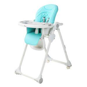 Jedálenská stolička Bo Jungle B-Dinner Chair Wheely - Blue
