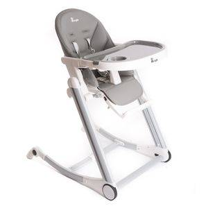 Jedálenská stolička Bo Jungle B-HIGH CHAIR - Grey