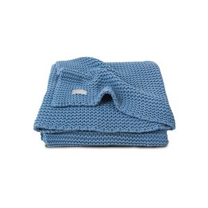 Deka Jollein Heavy knit 75x100 - Blue