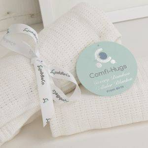 Letná deka CuddleCo - Bright White