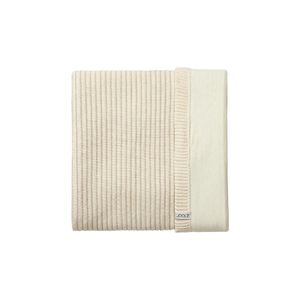 Pletená deka Joolz Essentials Ribbed - Off White