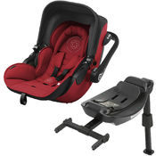 Autosedačka Kiddy Evoluna i-Size + Isofix Base 2 - Ruby Red 2017